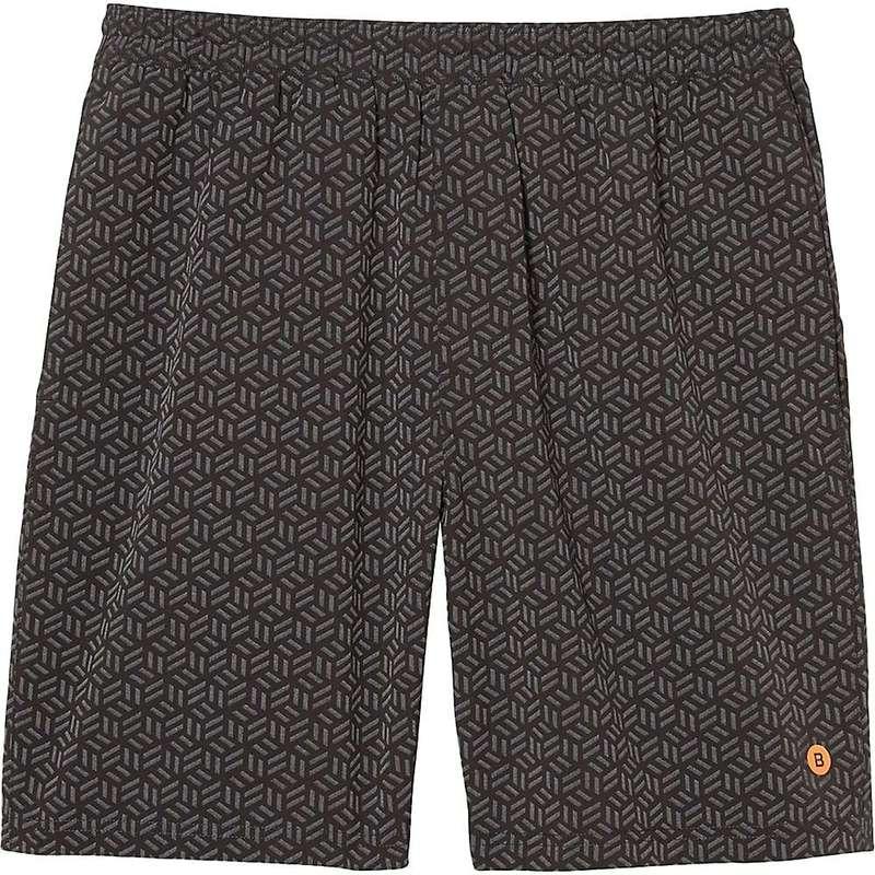 ボノボス メンズ ハーフパンツ・ショーツ ボトムス Bonobos Men's 9IN Printed Gym Short with Liner Reflective Cube Geo