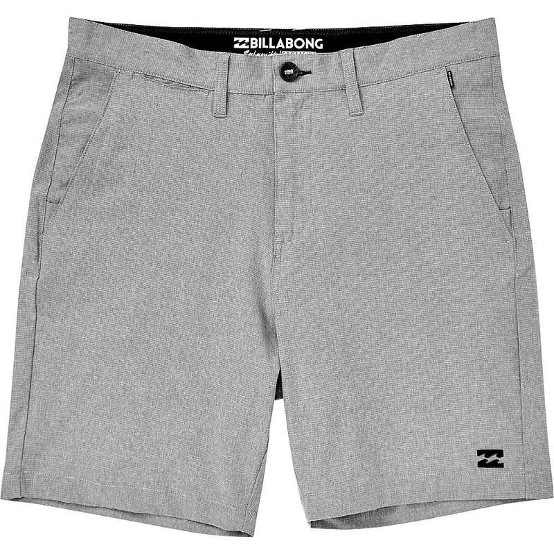 ビラボン メンズ ハーフパンツ・ショーツ ボトムス Billabong Men's Crossfire X Mid Walkshorts Grey