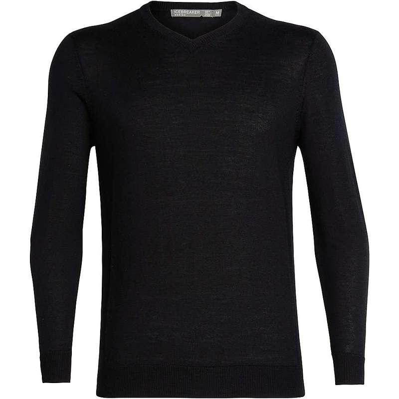 アイスブレーカー メンズ ニット・セーター アウター Icebreaker Men's Quailburn V Sweater Black