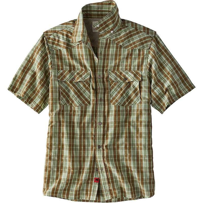 マウンテンカーキス メンズ シャツ トップス Mountain Khakis Men's Scrambler SS Shirt Tobacco