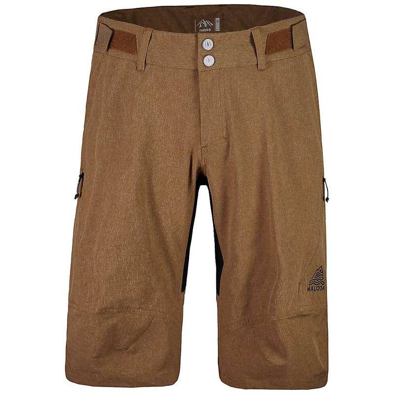 マローヤ メンズ ハーフパンツ・ショーツ ボトムス Maloja Men's JoelM. Shorts Walnut