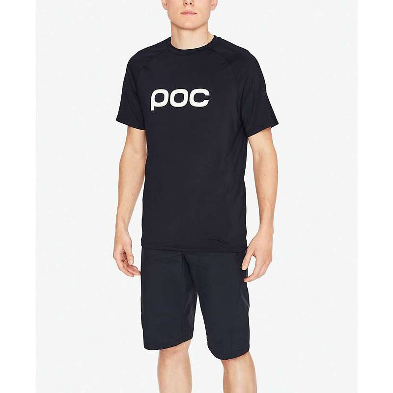 ピーオーシー メンズ ハーフパンツ・ショーツ ボトムス POC Sports Essential Enduro Short Uranium Black