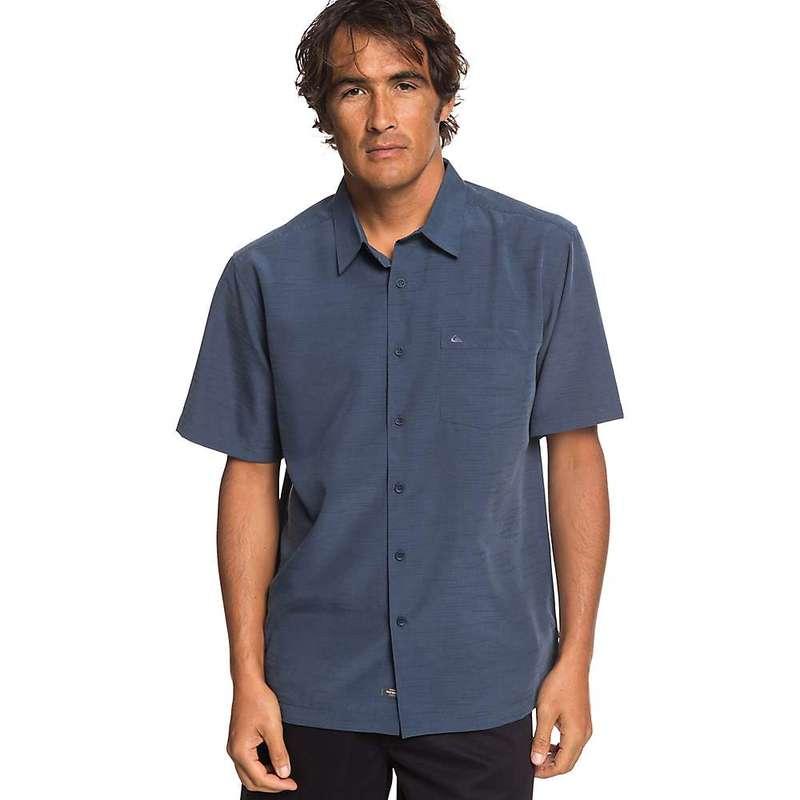 クイックシルバー メンズ シャツ トップス Quiksilver Men's Centinela 4 Shirt Parisian Night