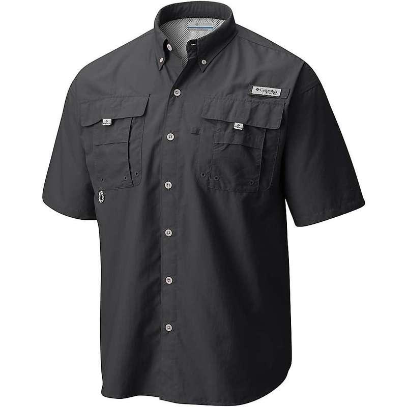 コロンビア メンズ シャツ トップス Columbia Men's Bahama II SS Shirt Black