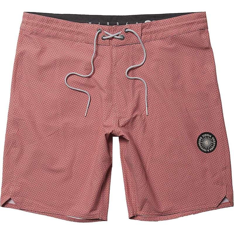 ヴィスラ メンズ ハーフパンツ・ショーツ 水着 Vissla Men's Solid Sets Printed 18.5IN Boardshort Plumeria