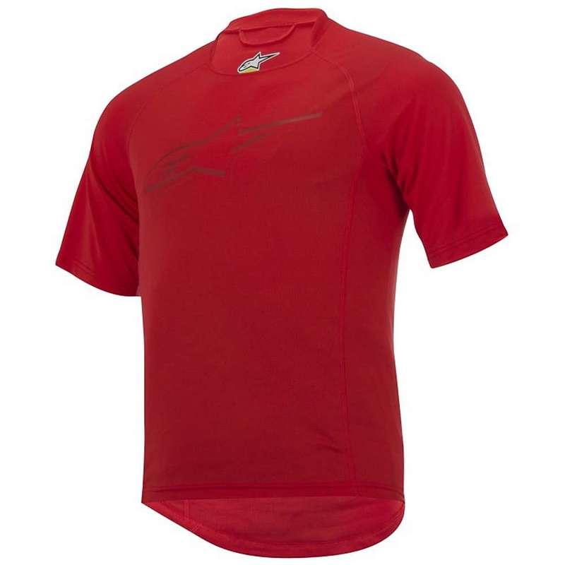 アルパインスターズ メンズ シャツ トップス Alpine Stars Men's Krypton SS Jersey Chili Red