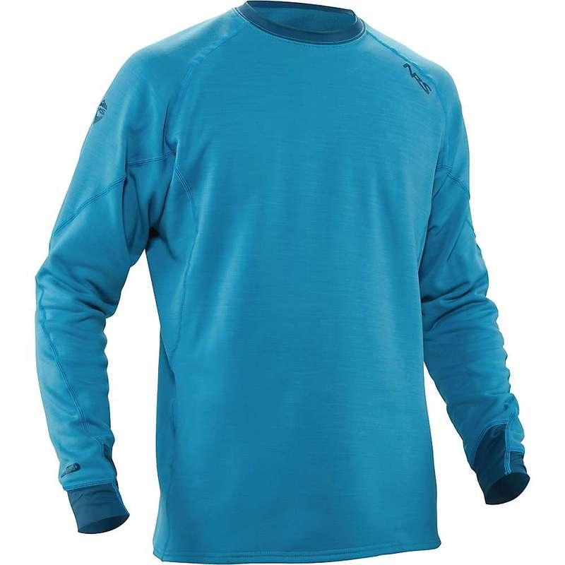 エヌアールエス メンズ Tシャツ トップス NRS Men's H2Core Expedition Weight Shirt Fjord