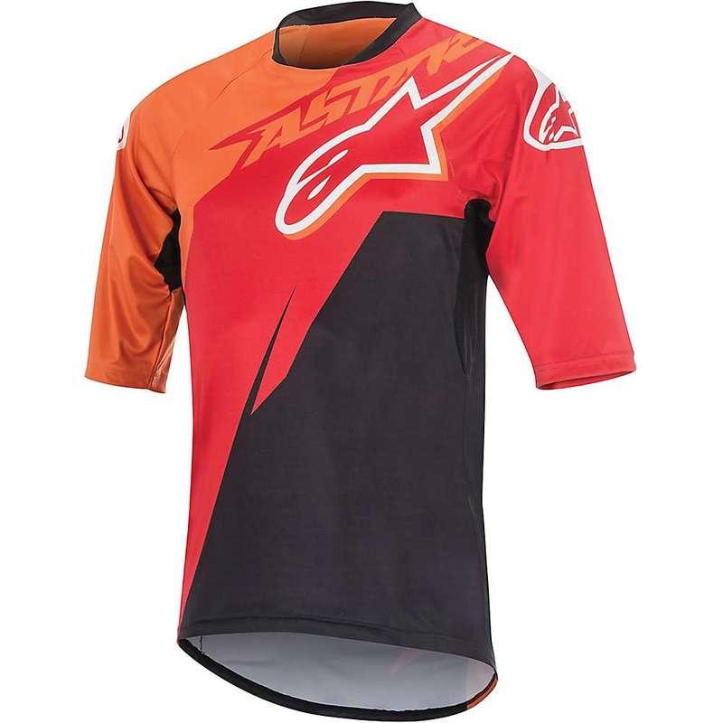 アルパインスターズ メンズ シャツ トップス Alpine Stars Men's Sight SS Jersey Red / Bright Orange / Black