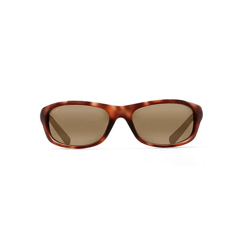 マウイジム メンズ サングラス・アイウェア アクセサリー Maui Jim Kipahulu Polarized Sunglasses Matte Tortoise Rubber / HCL Bronze