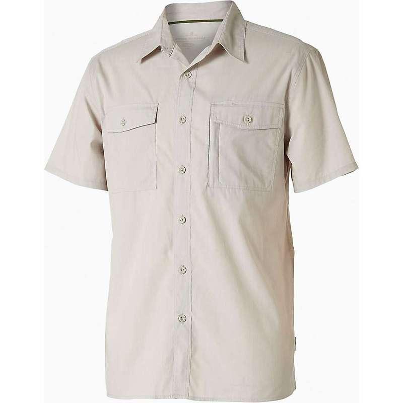 ロイヤルロビンズ メンズ シャツ トップス Royal Robbins Men's Vista Chill SS Shirt Soapstone