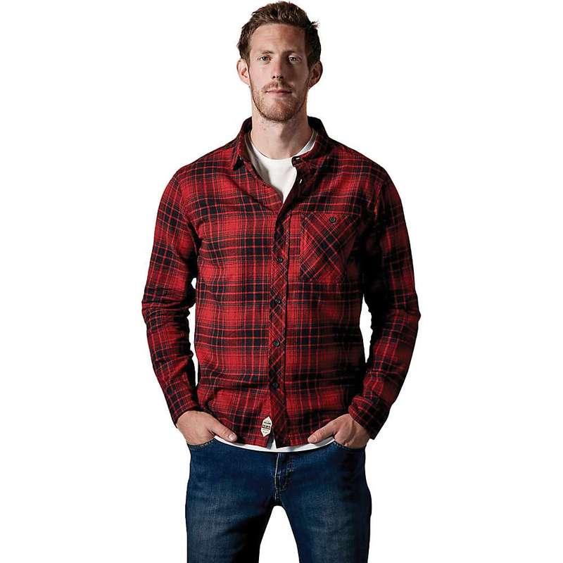 ラブ メンズ シャツ トップス Rab Men's Border Shirt Autumn Red