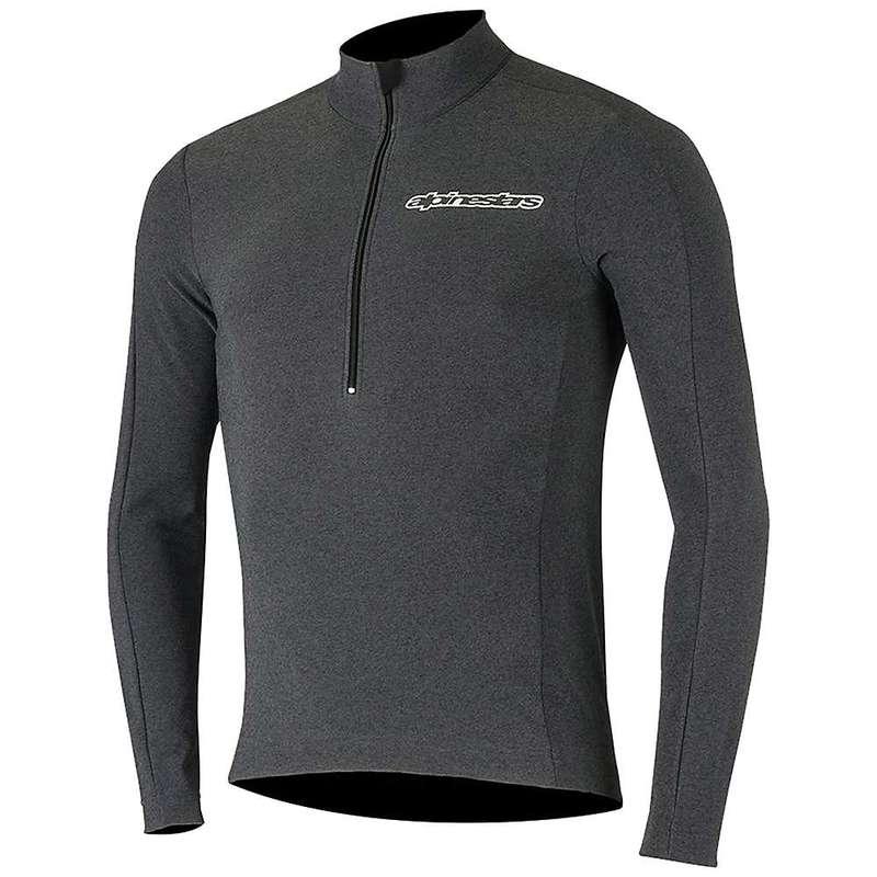 アルパインスターズ メンズ シャツ トップス Alpine Stars Men's Booter Warm Jersey Black / White