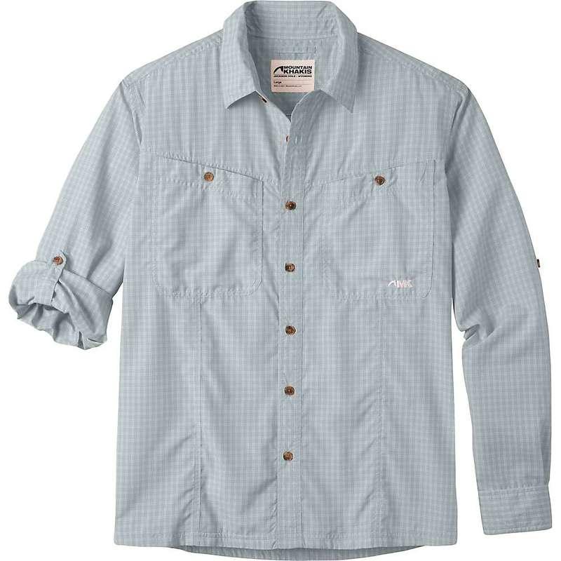 マウンテンカーキス メンズ シャツ トップス Mountain Khakis Men's Trail Creek LS Shirt Smoke