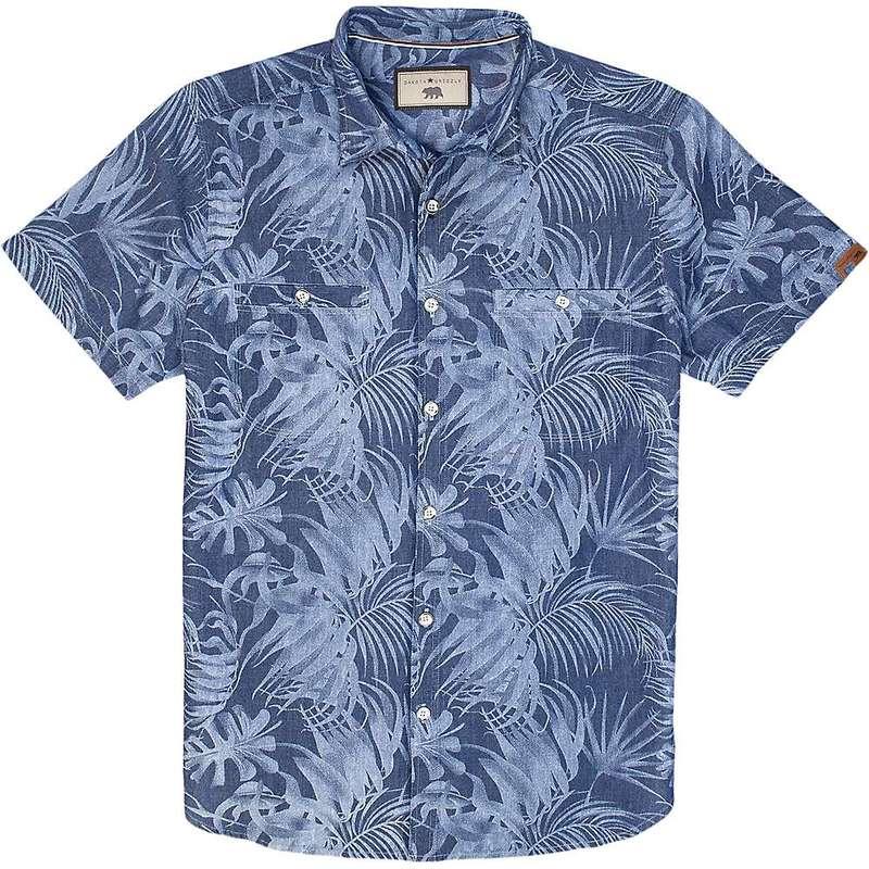 ダコタグリズリー メンズ シャツ トップス Dakota Grizzly Men's Palmer SS Shirt Atlantic
