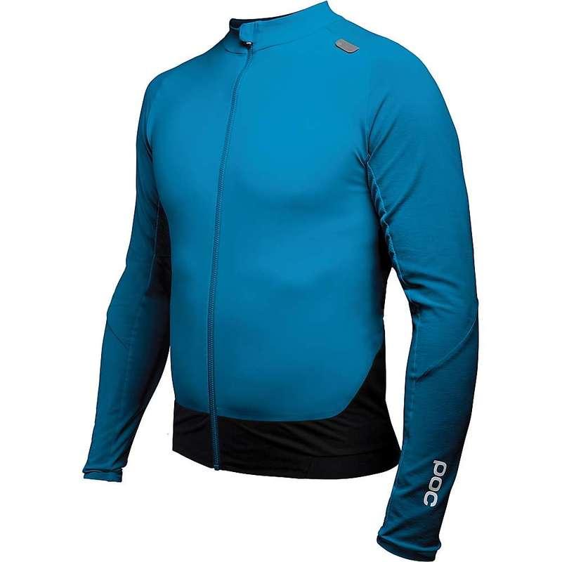 ピーオーシー メンズ シャツ トップス POC Sports Men's Resistance Pro XC Zip Jersey Furfural Blue
