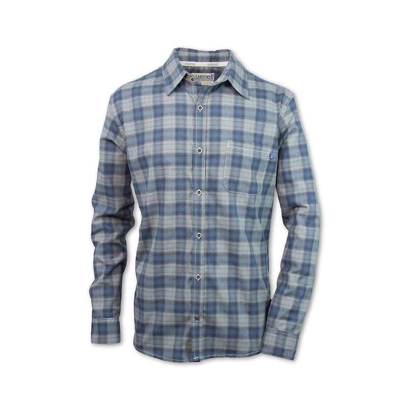パーネル メンズ シャツ トップス Purnell Men's Tilden Performance Plaid Flannel LS Shirt Blue F18