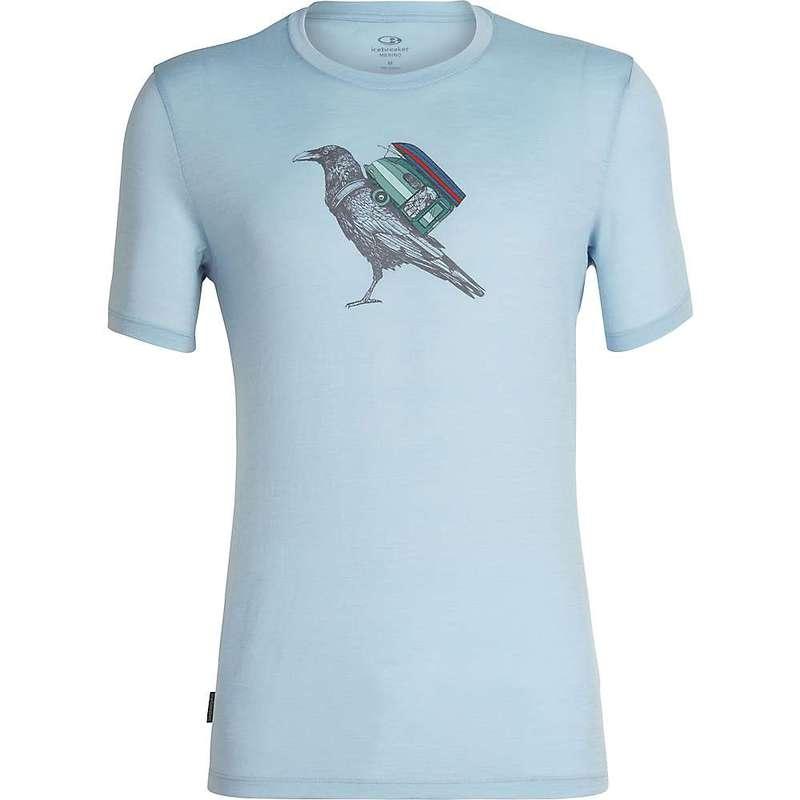 アイスブレーカー メンズ Tシャツ トップス Icebreaker Men's Tech Lite SS Crewe Ravencamp Sky