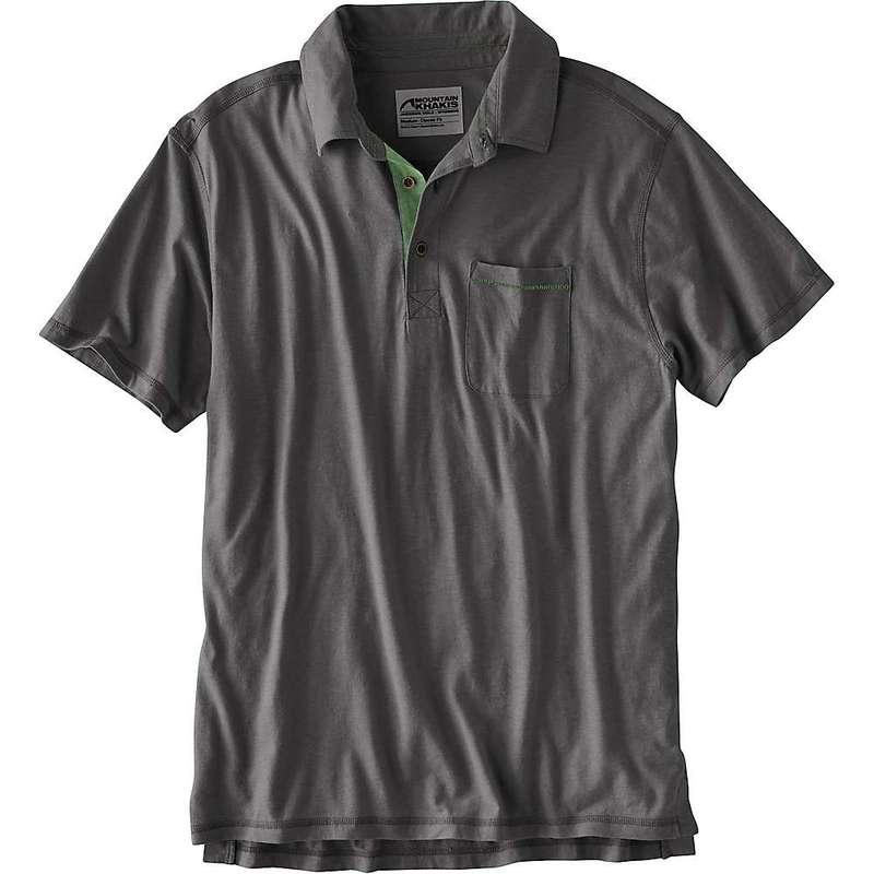 マウンテンカーキス メンズ シャツ トップス Mountain Khakis Men's Hutch Polo Shirt Slate