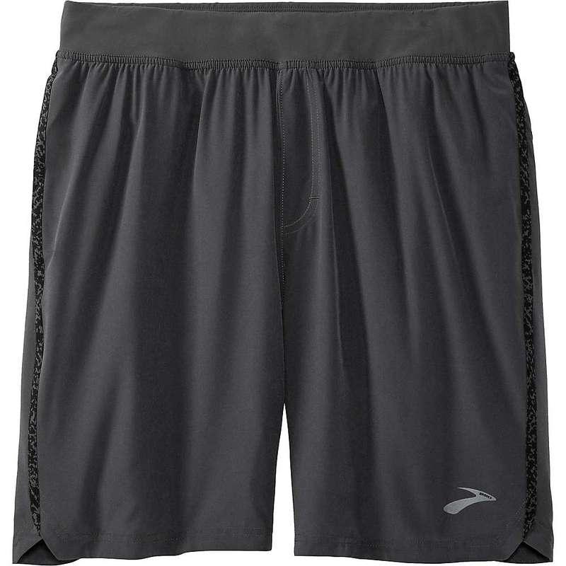ブルックス メンズ ハーフパンツ・ショーツ ボトムス Brooks Men's Equip 9 inch Short Asphalt/Black Static