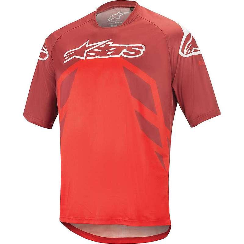 アルパインスターズ メンズ シャツ トップス Alpine Stars Men's Racer V2 SS Jersey Burgundy / Bright Red / White