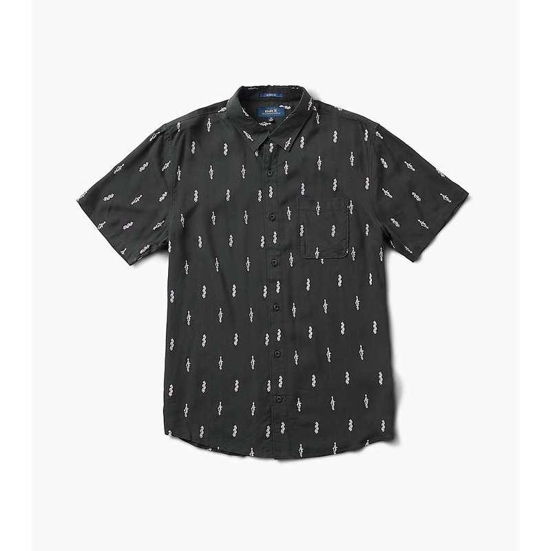 ローアク メンズ シャツ トップス Roark Men's Carve The Stone Button Up Shirt Black