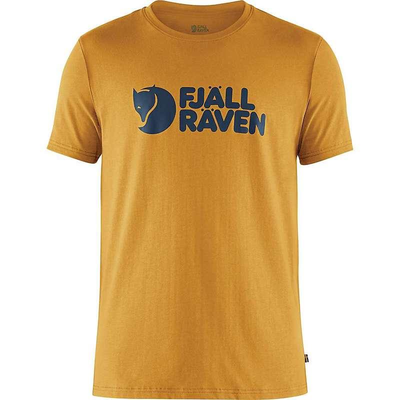 フェールラーベン メンズ Tシャツ トップス Fjallraven Men's Logo T-Shirt Ochre
