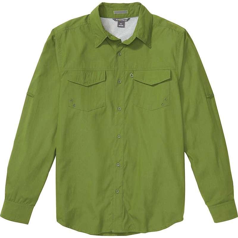 エクスオフィシオ メンズ シャツ トップス ExOfficio Men's Estacado LS Shirt Alpine Green