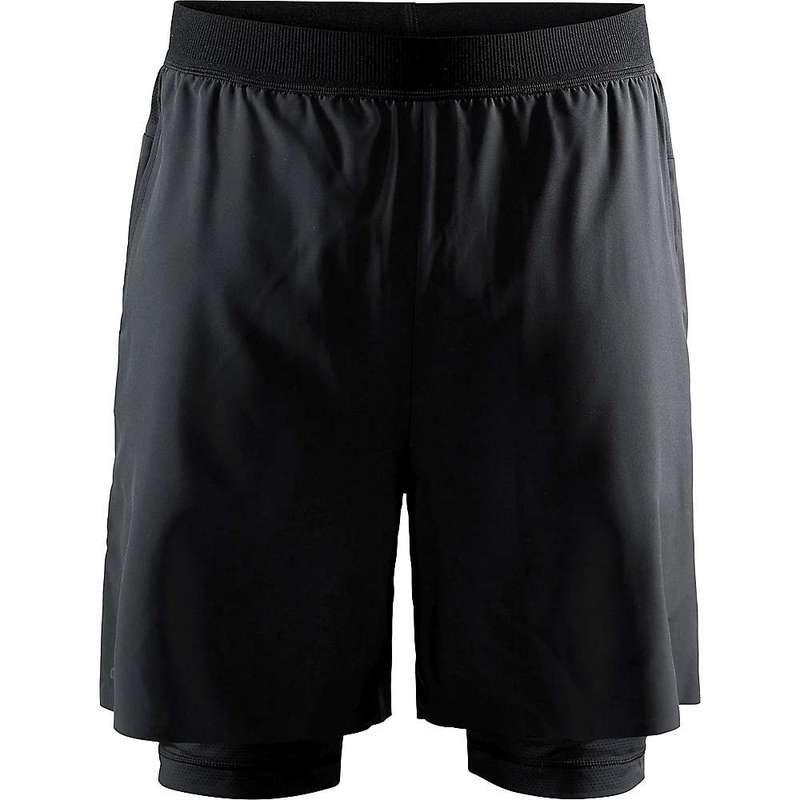 クラフトスポーツウェア メンズ ハーフパンツ・ショーツ ボトムス Craft Men's Vent 2-In-1 Racing Short Black