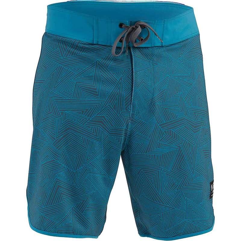 エヌアールエス メンズ ハーフパンツ・ショーツ ボトムス NRS Men's Eddyline Shorts Posideon