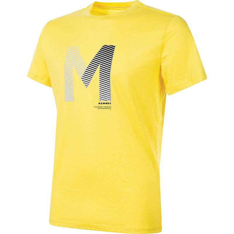 マムート メンズ Tシャツ トップス Mammut Mens' Sloper T-Shirt Freesia Melange
