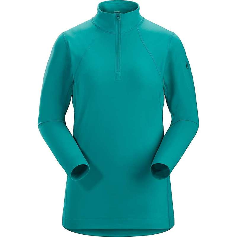 アークテリクス レディース Tシャツ トップス Arcteryx Women's RHO LT Zip Neck Baselayer Illusion