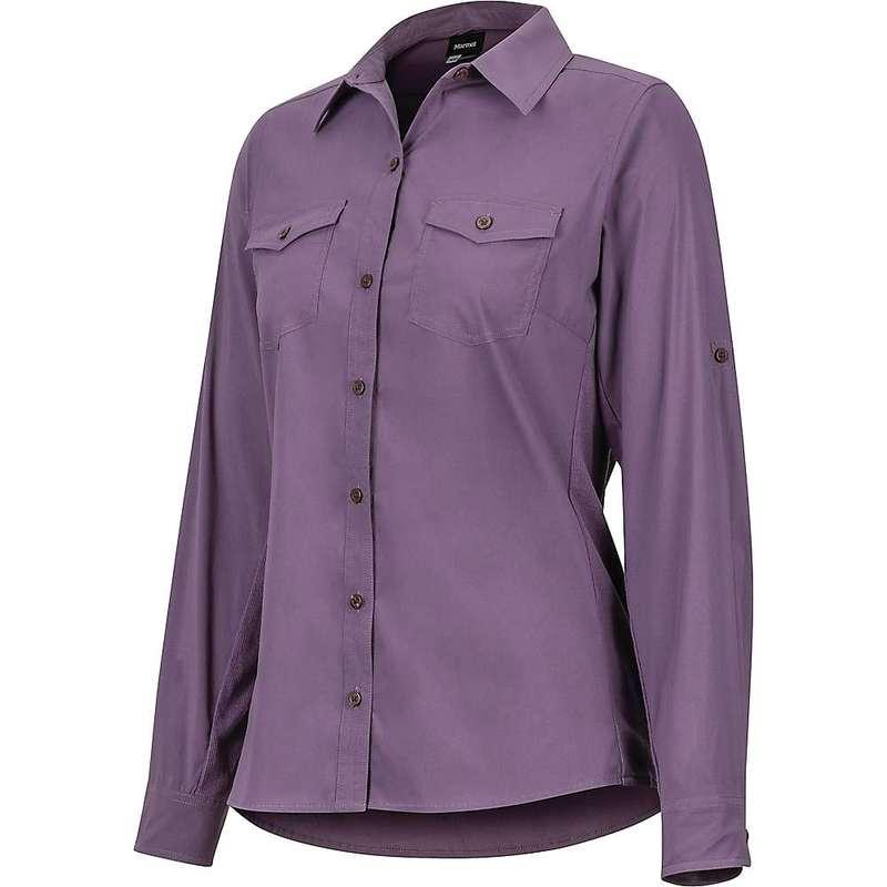 マーモット レディース シャツ トップス Marmot Women's Annika LS Shirt Vintage Violet