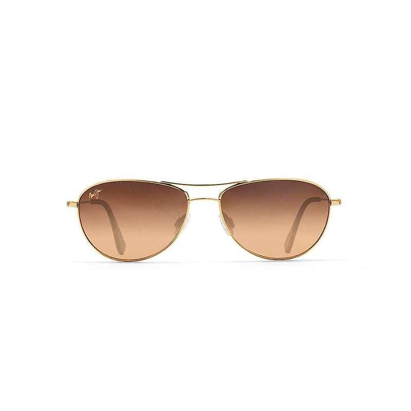 マウイジム レディース サングラス・アイウェア アクセサリー Maui Jim Baby Beach Polarized Sunglasses Gold / HCL Bronze Polarized