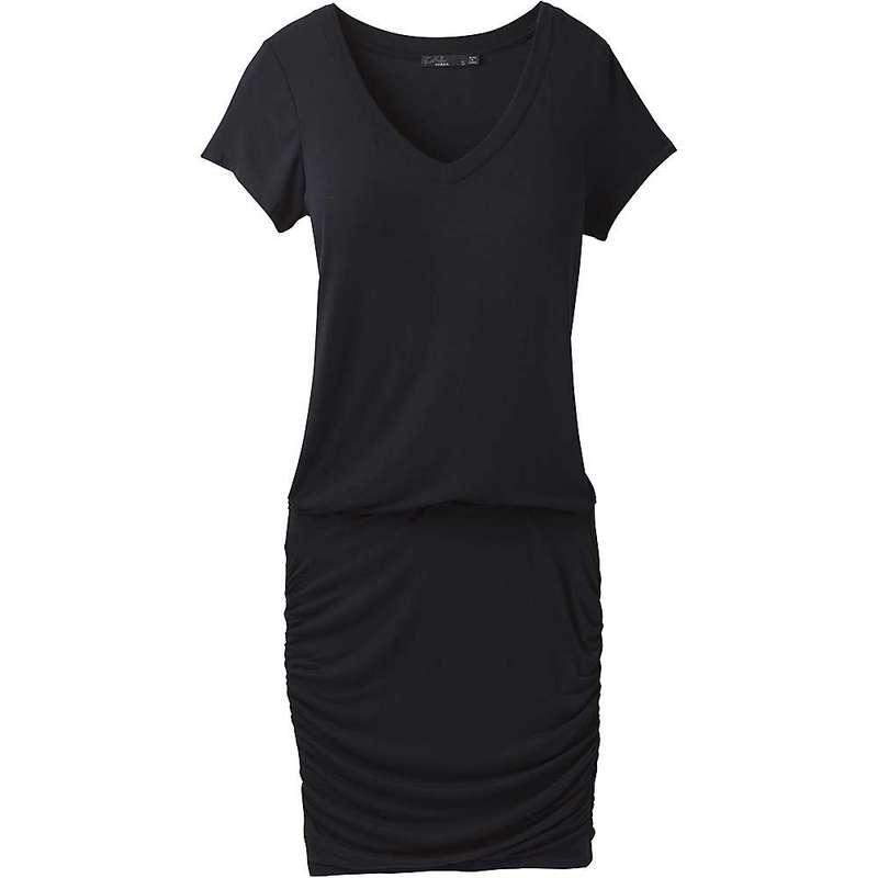 プラーナ レディース ワンピース トップス Prana Women's Foundation Dress Black