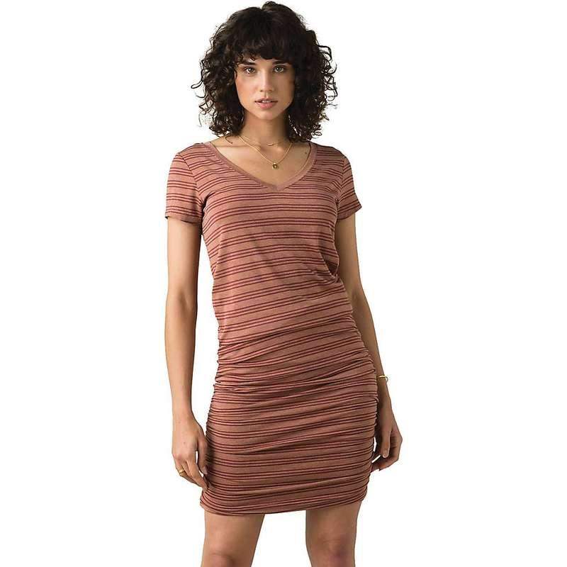 プラーナ レディース ワンピース トップス Prana Women's Foundation Dress Vino Heather Stripe