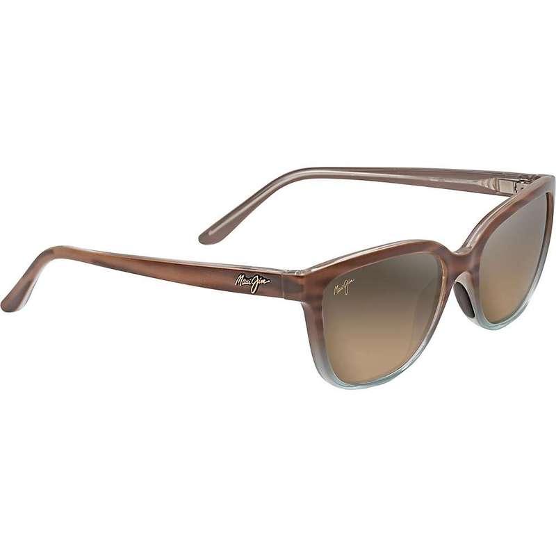 マウイジム レディース サングラス・アイウェア アクセサリー Maui Jim Women's Honi Polarized Sunglasses Sandstone / Blue / HCL Bronze Polarized
