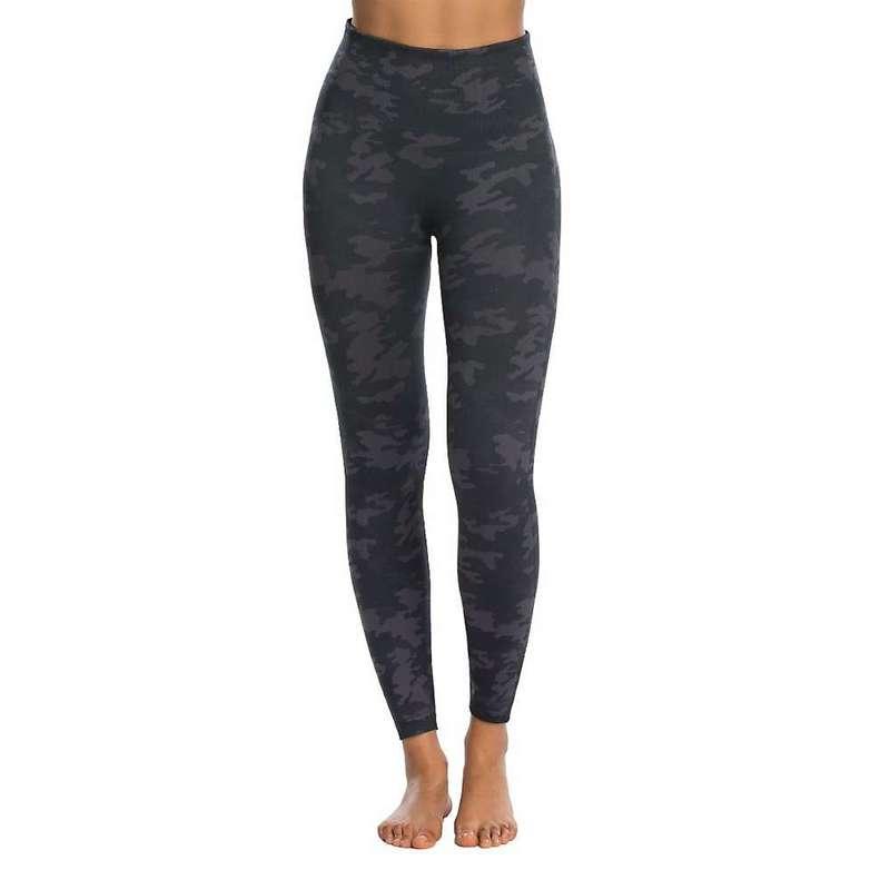 スパンク レディース カジュアルパンツ ボトムス Spanx Women's Look At Me Now Seamless Legging Black Camo