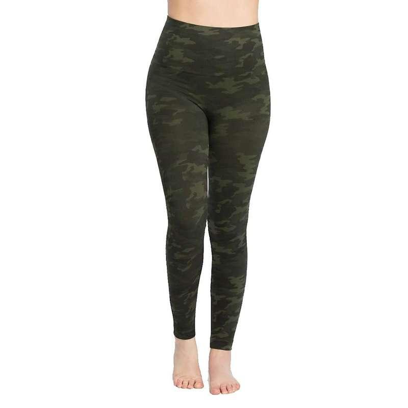 スパンク レディース カジュアルパンツ ボトムス Spanx Women's Look At Me Now Seamless Legging Green Camo