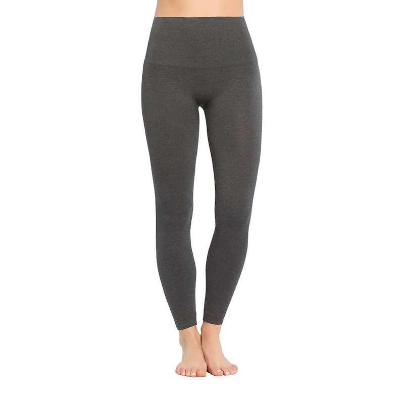 スパンク レディース カジュアルパンツ ボトムス Spanx Women's Look At Me Now Seamless Legging Heather Charcoal