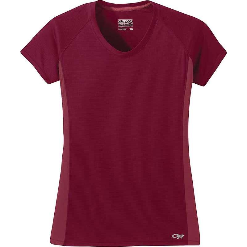 アウトドアリサーチ レディース Tシャツ トップス Outdoor Research Women's Echo SS Tee Crimson / Clay