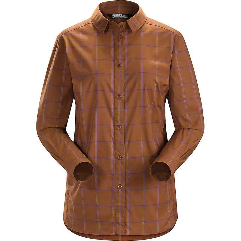 アークテリクス レディース シャツ トップス Arcteryx Women's Riel LS Shirt Kanna Stream