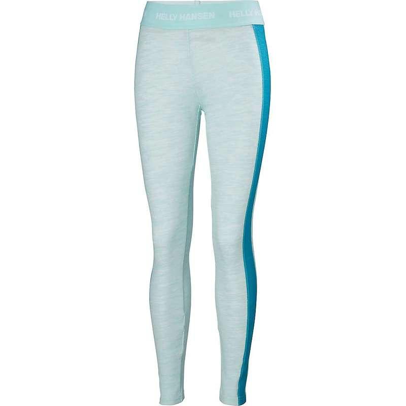 ヘリーハンセン レディース カジュアルパンツ ボトムス Helly Hansen Women's HH Lifa Merino Pant Blue Tint Melange