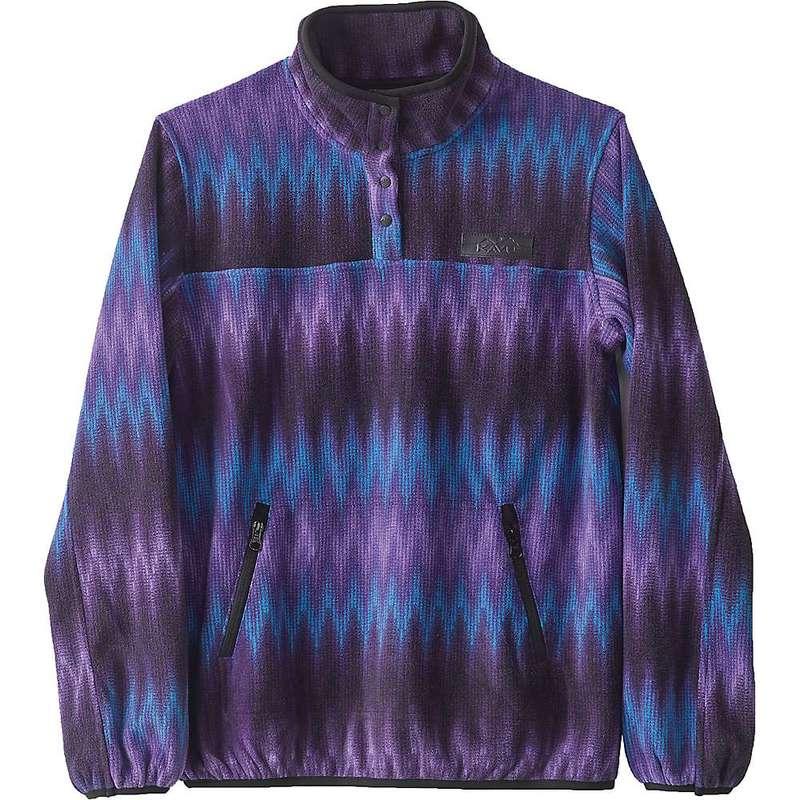 カブー レディース シャツ トップス Kavu Women's Cavanaugh Pullover Electric Stripe