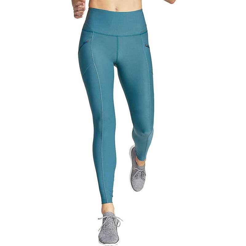 エディー バウアー レディース レギンス ボトムス Eddie Bauer Motion Women's High Rise Trail Tight Legging Light Nordic Blue
