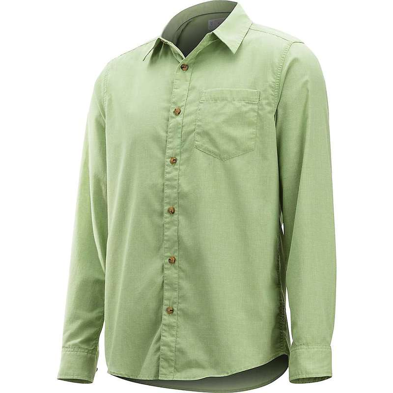 エクスオフィシオ メンズ シャツ トップス ExOfficio Men's BugsAway Corfu LS Shirt Wheatgrass