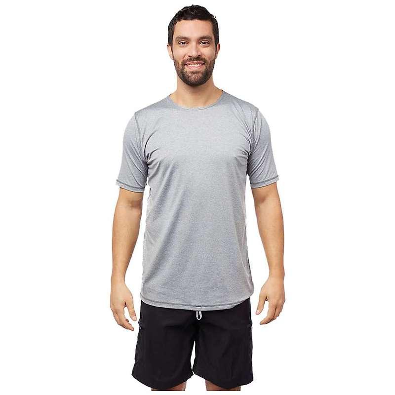 レベルシックス メンズ Tシャツ トップス Level Six Men's Dune SS Top Light Grey Melange