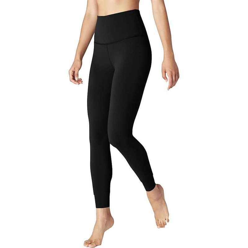 ビヨンドヨガ レディース カジュアルパンツ ボトムス Beyond Yoga Women's Caught In The Midi High Waisted Legging Jet Black