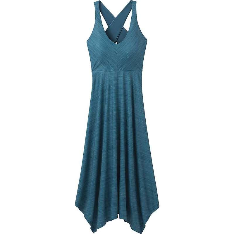 プラーナ レディース ワンピース トップス Prana Women's Josepina Maxi Dress Atlantic Linea