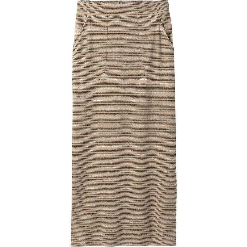 プラーナ レディース スカート ボトムス Prana Women's Tulum Skirt Dark Khaki