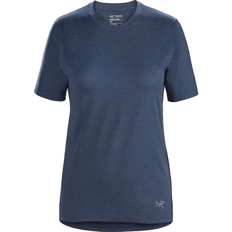 アークテリクス レディース Tシャツ トップス Arcteryx Women's Remige SS T-shirt Cobalt Moon